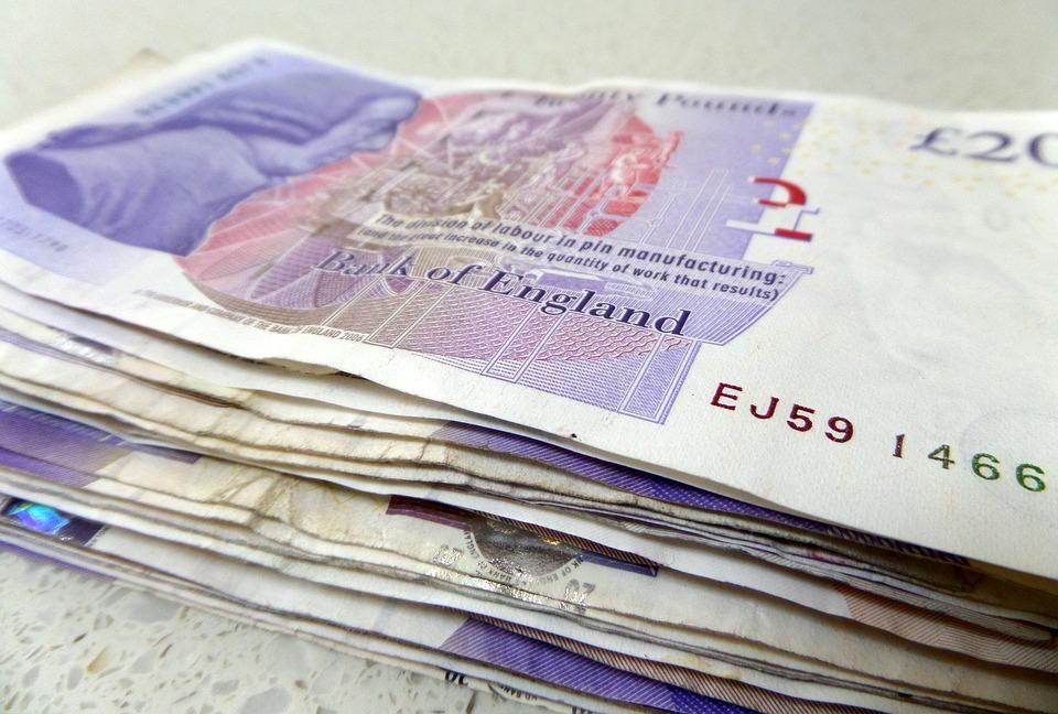 anglická měna