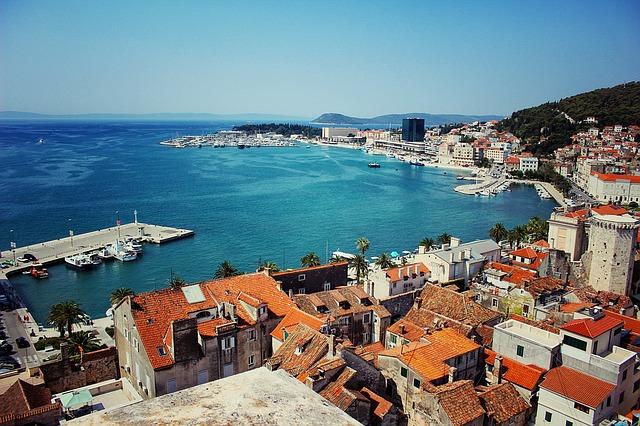 panoráma města Splitu