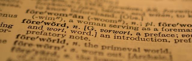 list slovníku